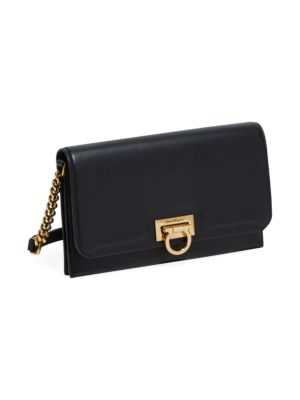 Gancini Leather Wallet-On-Chain