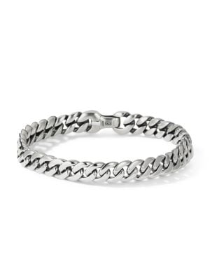 Chain Sterling Silver Curb Link Bracelet