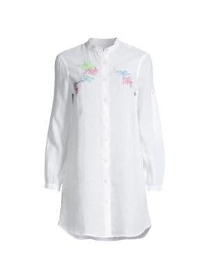 Franche Mini Linen Shirtdress