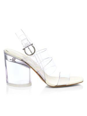 PVC Slingback Sandals