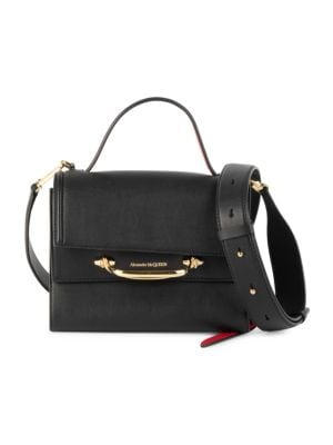 Small The Story Leather Satchel