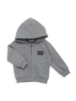Baby Boy's Zip-Front Sweater