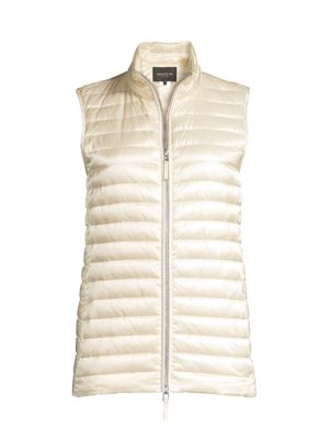 Scout Satin Tech Quilted Vest