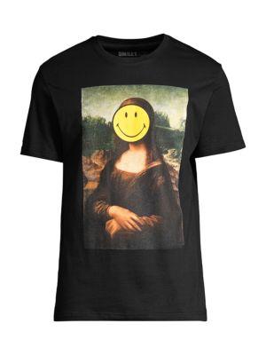 Mona Lisa Smiley T-Shirt