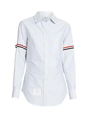 Classic Striped Button Down Shirt