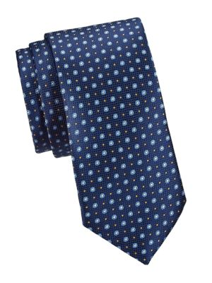 COLLECTION Multi-Dot Woven Silk Tie