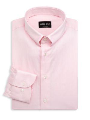 Solid Dress Shirt