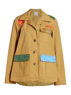 Patchwork Safari Jacket