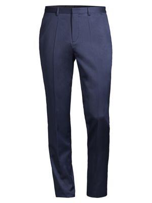 Henfords Pleated Virgin Wool Trousers