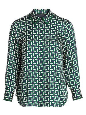 Julianne Printed Blouse