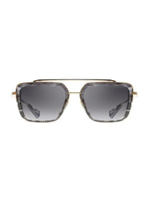 Mach-Seven 56MM Aviator Sunglasses