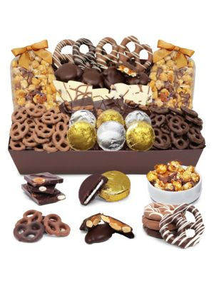 Sensation Belgian Chocolate-Covered Snack Tray