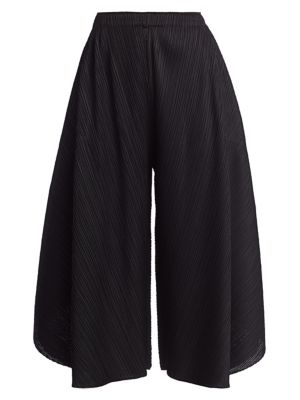 Curved Layered Culottes