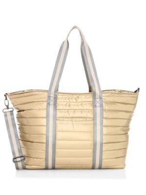 Wingman Pearlized Quilted Tote