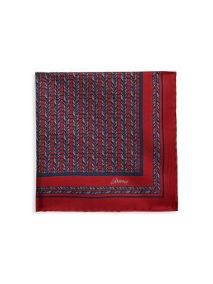 Loom Weave Silk Pocket Square