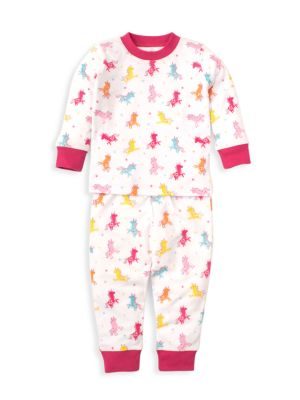 Baby's & Little Girl's Unique Unicorn 2-Piece Pajama Set