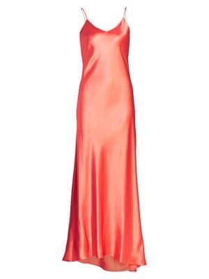 Jadi Silk Slip Gown