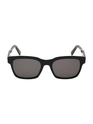 55MM Square Plastic Sunglasses
