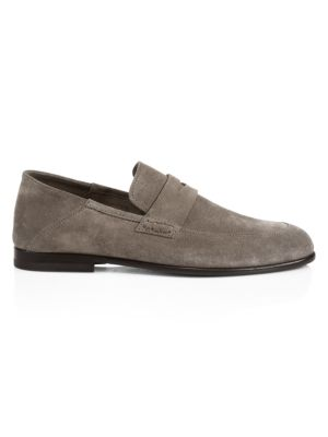 Edward Soft Suede Penny Loafers