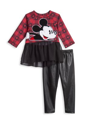 Baby's & Little Girl's Disney x Pastourelle By Pippa & Julie 2-Piece Dress and Leggings Set