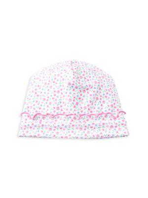 Baby Girl's Flowering Flamingo Floral Hat
