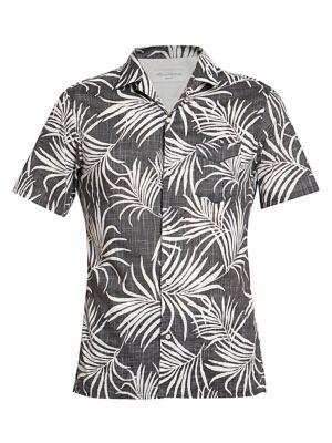 Dario Tropical-Print Shirt