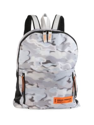 Concrete Jungle Camouflage Backpack