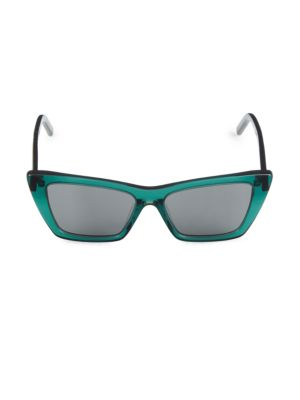 53MM Rectangle Sunglasses