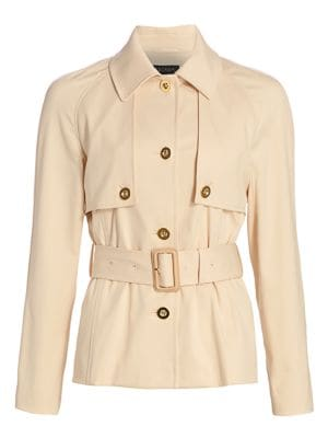 Baisley Short Belted Trench Jacket