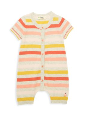 Baby Girl's Lazy Hazy Summer Days Organic Cotton Knit Romper