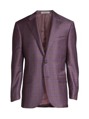 Windowpane Wool Sportcoat