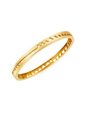 Capture Me 18K Yellow Gold Bangle Bracelet