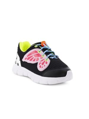 Baby's, Little Girl's & Girl's Chiara Mesh Leather Butterfly Sneakers