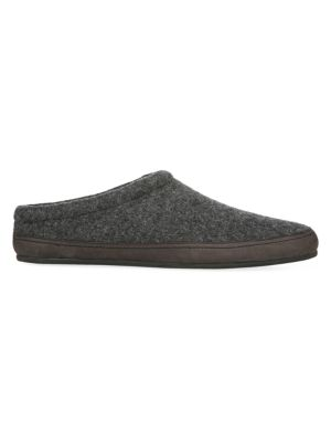 Howell Shearling-Lined Wool Slippers