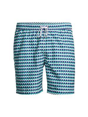 Charles Geometric Swim Shorts