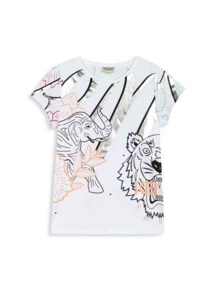 Little Girl's & Girl's Animal Graphic T-Shirt