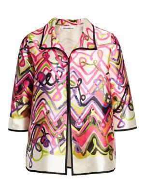 Fiesta Flying Colors Jacquard Coat
