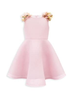 Little Girl's Sleeveless Floral Dress