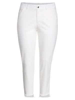 Mercer Step-Hem Jeans