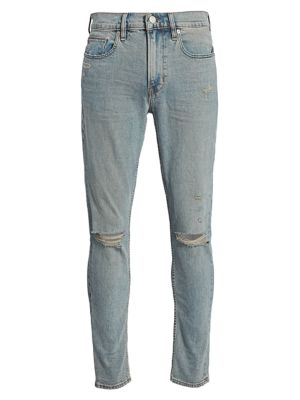 Zack Distressed Skinny Jeans