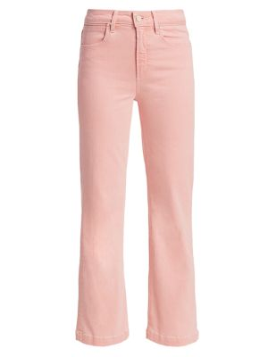 Atley High-Rise Ankle Flare Jeans