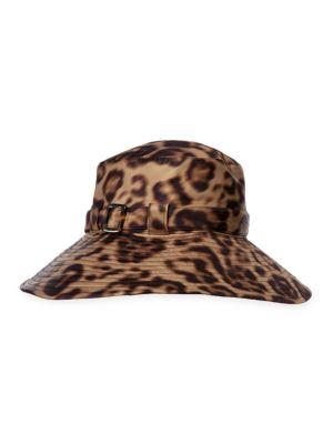 Kaya Leopard-Print Hat