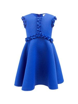 Little Girl's Striped Fit & Flare Dress