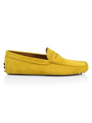 Gommini Suede Penny Loafers