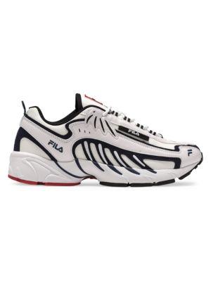 MSGM x Fila Mixed-Media Sneakers