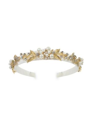 Bejeweled Faux Pearl Headband