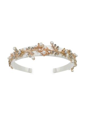 Embellished Faux Pearl Headband