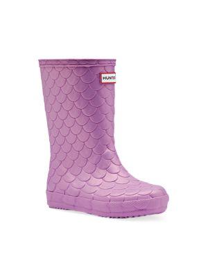 Baby's, Little Girl's & Girl's First Classic Sea Dragon Rain Boots