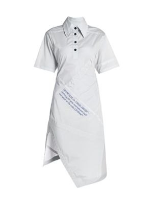 Asymmetric Parachute Dress