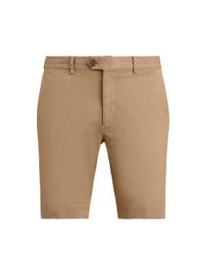 Eaton Stretch-Cotton Shorts